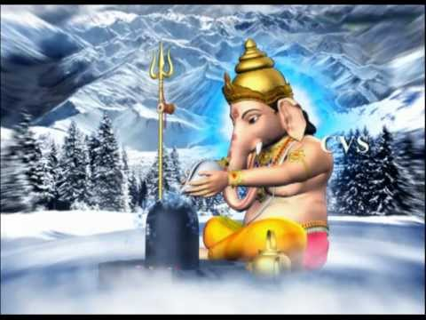 Shiva Panchakshari Stotram - 3d Animation God Songs (3d Images) video