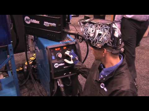 Millermatic 350P Set-up for MIG and Pulsed MIG Welding