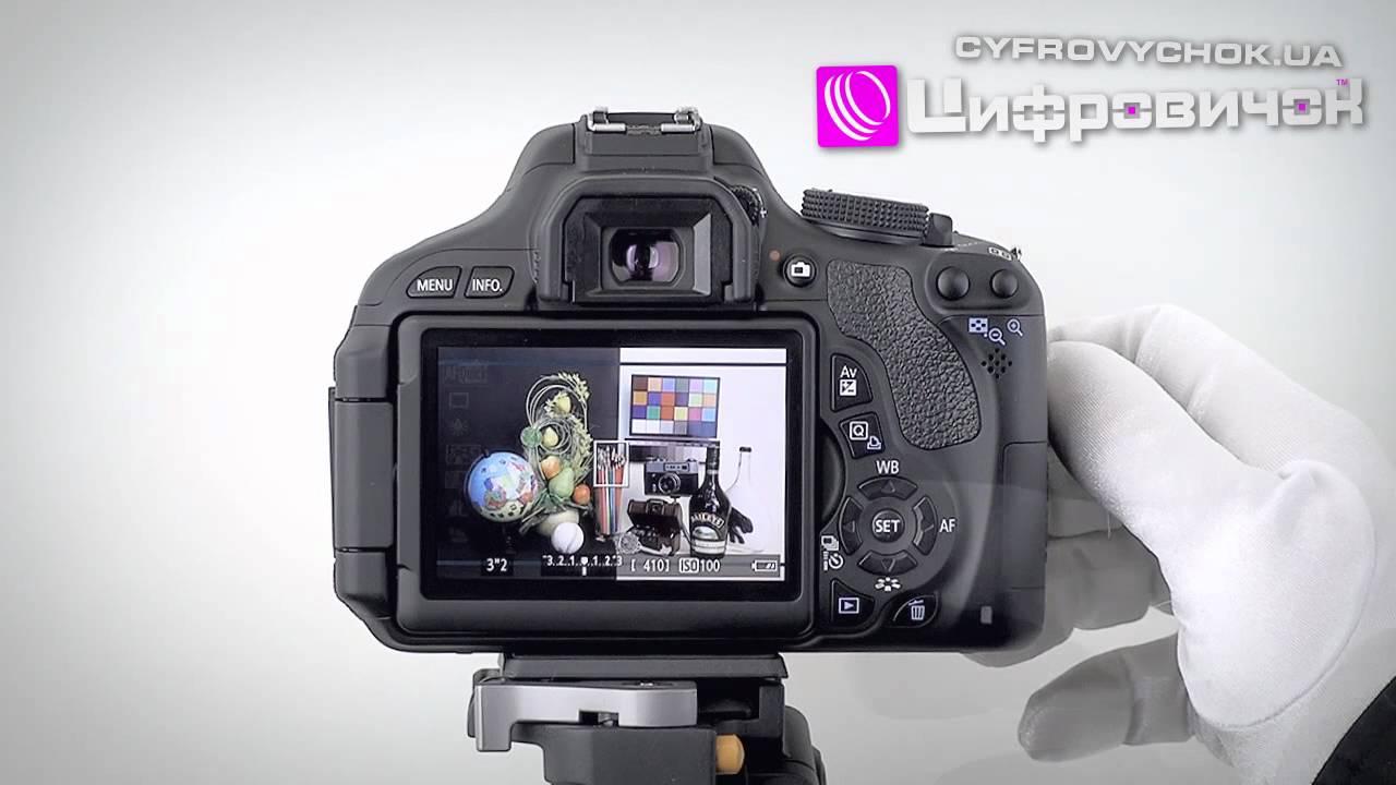 Відеоогляд Canon EOS 600D - YouTube