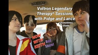 Voltron Legendary Therapy* With Lance and Pidge KEITH INTERVENTION TIME