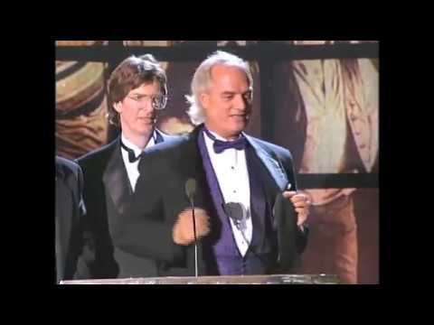 Members of the Grateful Dead Accept Hall of Fame Award at 1994 Inductions