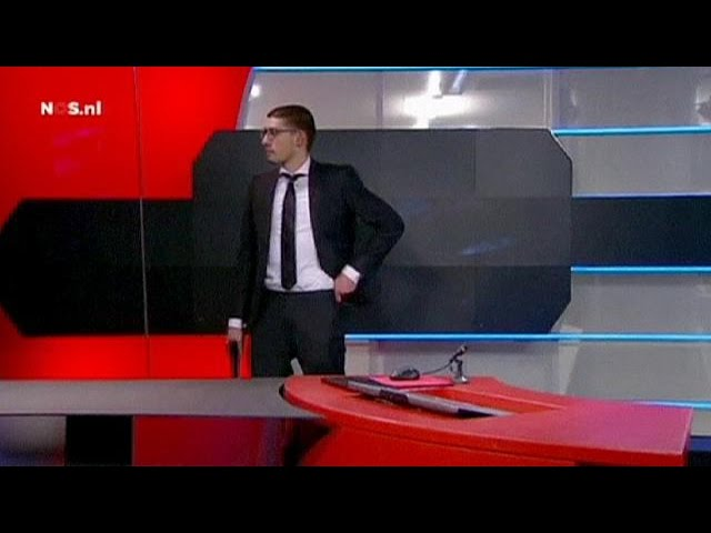 Teenager with fake gun attacks Dutch broadcaster NOS - no comment