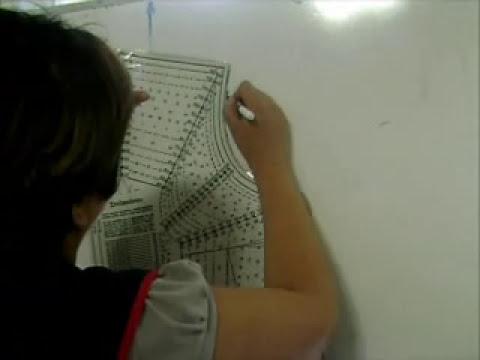 Clases de corte y confeccion.Como usar sistema Mexico 1 er parte