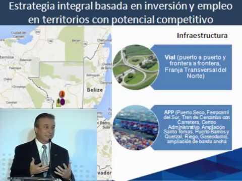 Guatemala 2014 - Economy Minister Sergio de la Torre