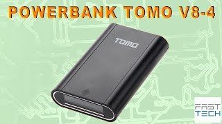 Power Bank TOMO V8-4 ЗУ для 4x 18650 с LCD экраном - Fasttech.com