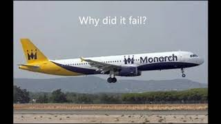 Why did Monarch go bankrupt?
