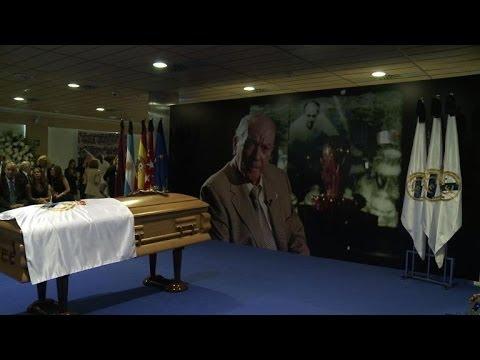 Mort d'Alfredo Di Stéfano: hommage au Santiago Bernabeu