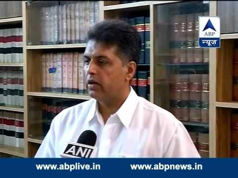 Congress leader Manish Tewari on Delhi govt formation issue