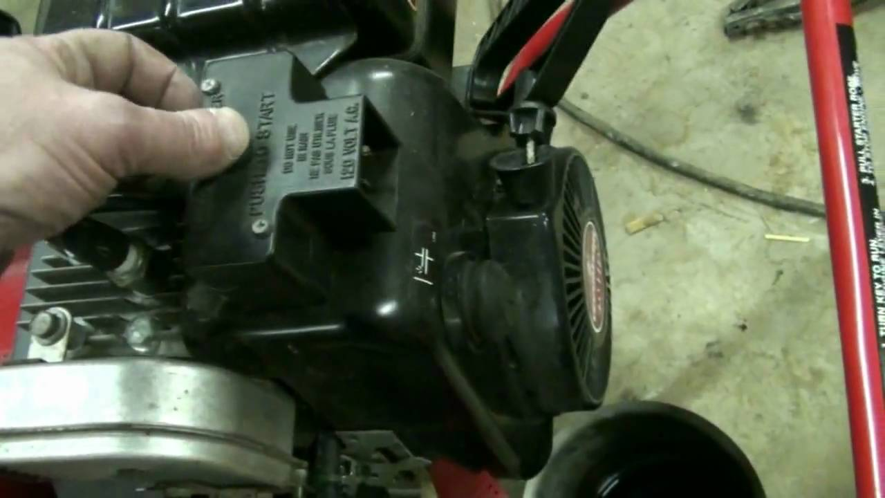 Tecumseh Snow King Carburetor Repair Video On Troy