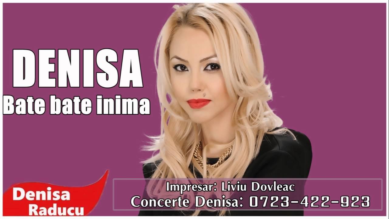 DENISA - BATE BATE INIMA (melodie originala) hit 2016 manele noi Martie