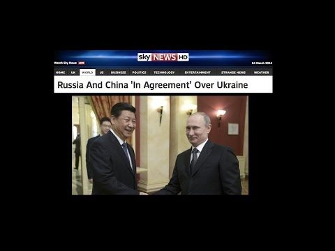 Russia and China Unite (Crimea)