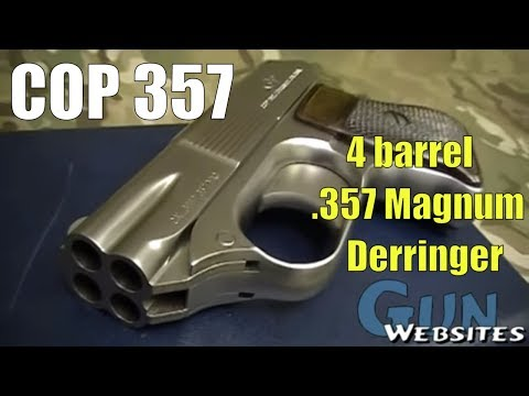 Cop 357 Four Barrel Derringer