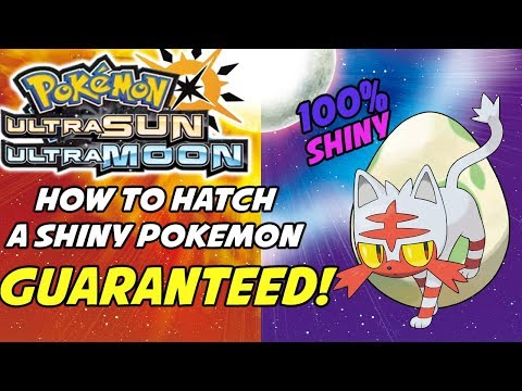 How to Hatch Guaranteed Shiny Pokemon in Pokemon Sun and Moon! Shiny Swap Breeding Method