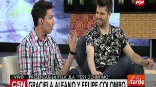 C5N - Viva La Tarde: Graciela Alfano y Felipe Colombo presentan