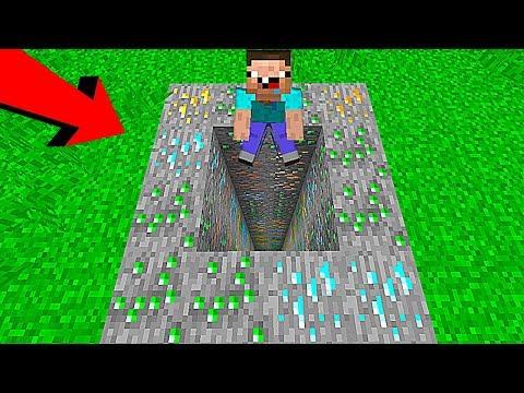 НУБ НАШЕЛ САМУЮ БОГАТУЮ И ГЛУБОКУЮ ЯМУ В Майнкрафте! Minecraft Мультики Майнкрафт Троллинг Нуб и Про