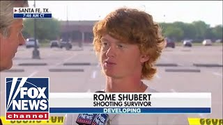 Santa Fe shooting survivor tells harrowing story