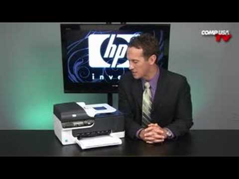 HP Officejet J4580 All-in-One Printer - YouTube
