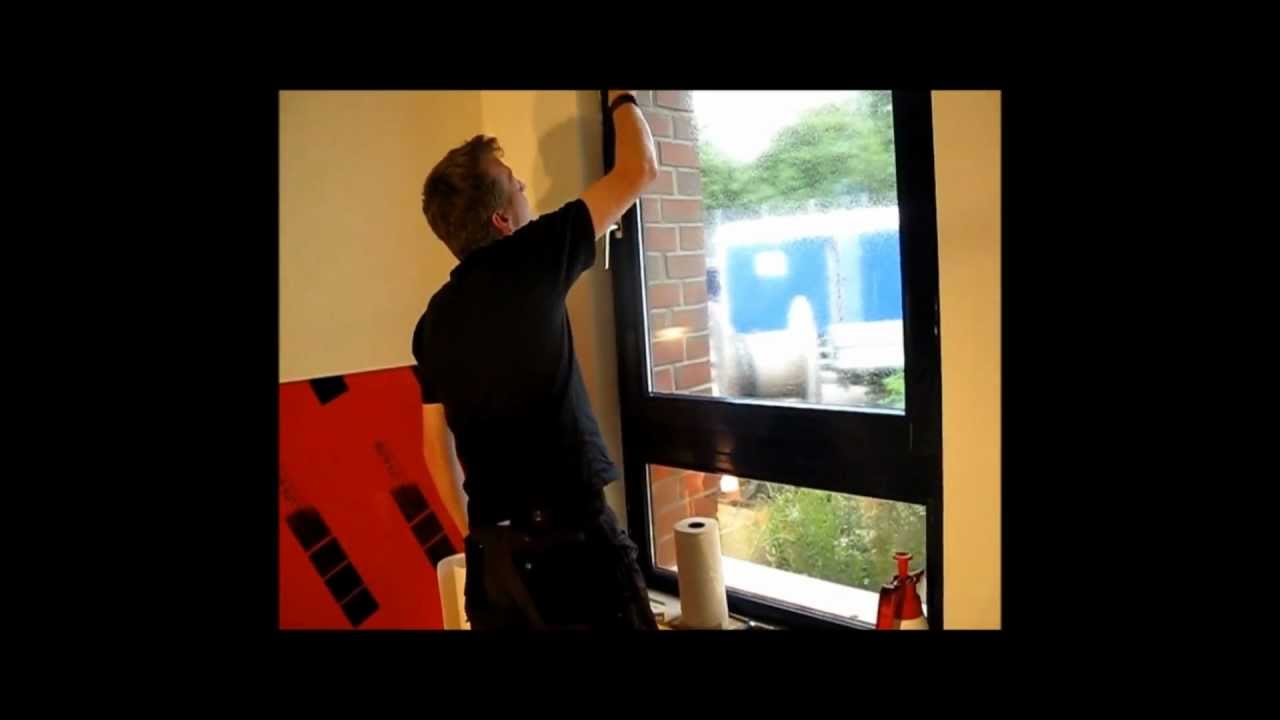 milchglasfolien montage von folien fischer aus hamburg bergedorf youtube. Black Bedroom Furniture Sets. Home Design Ideas