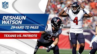 Deshaun Watson Threads the Needle for the TD! | Texans vs. Patriots | NFL Wk 3 Highlights