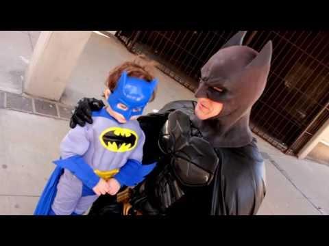 BATMAN meets LITTLE BATMAN