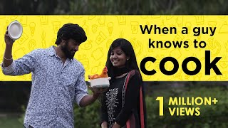 When a Guy Knows To Cook | English Subtitles | Awesome Machi