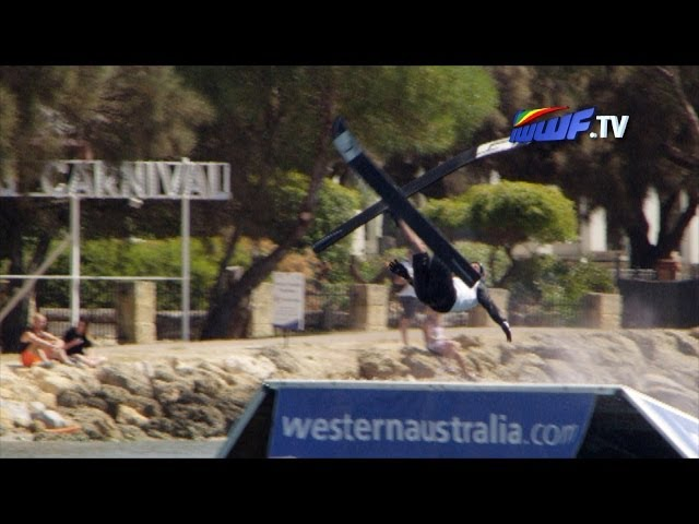 IWWF world cup - Mandurah 2014 - Ski Jump explained