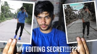 THE SECRET OF PHOTO EDITING