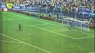 Brazil vs France World Cup 1986  - Penalty Shootout