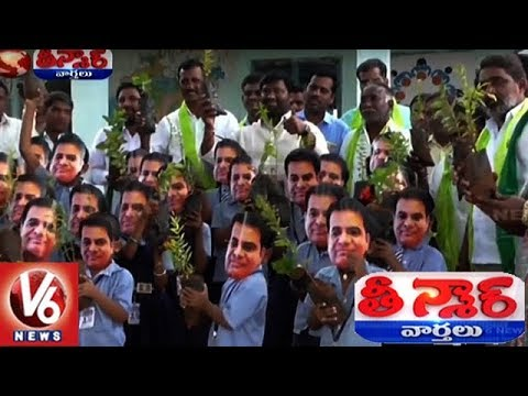 Minister KTR Birthday Celebrations In All Over Telangana State | Teenmaar News | V6 News