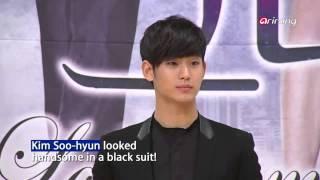 Showbiz Korea - WON BIN & LEE NA YOUNG ON A PUBLIC DATE AT A WEDDING(원빈 이나영 결혼식장에서 공개 데이트, 하객들도 깜짝!)