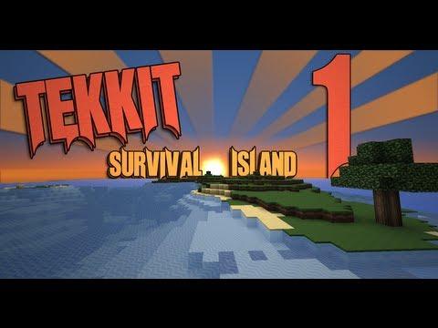 Tekkit: Island Edition - Ep 1