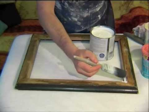 Silver Paint For Wood Picture Frame