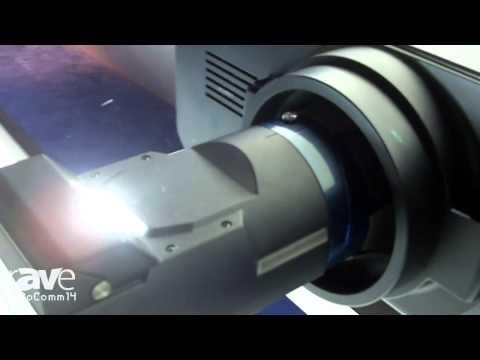 InfoComm 2014: Panasonic Talks About the ET-D75LE90 Ultra-Short-Throw Lens