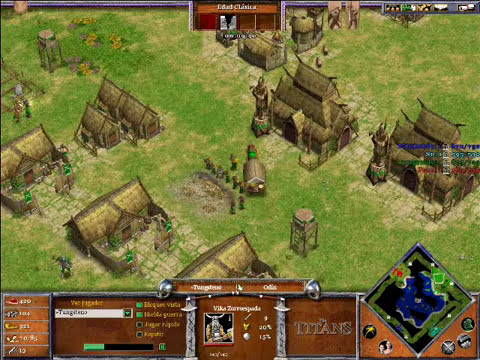 Age of Mythology The Titans x Hamachi: Hades & Odin VS Isis & Hades - Parte 1/4