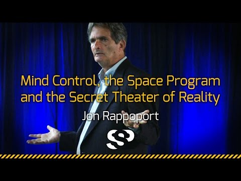 Jon Rappoport at the Secret Space Program Conference,  2014 San Mateo