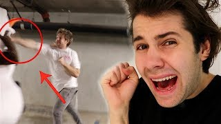 HE GOT INTO A FIGHT WITH A PERFORMER!! (FREAKOUT)