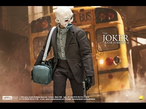 REVIEW : Hottoys The Joker Bank Robber 2 0 [MMS249]