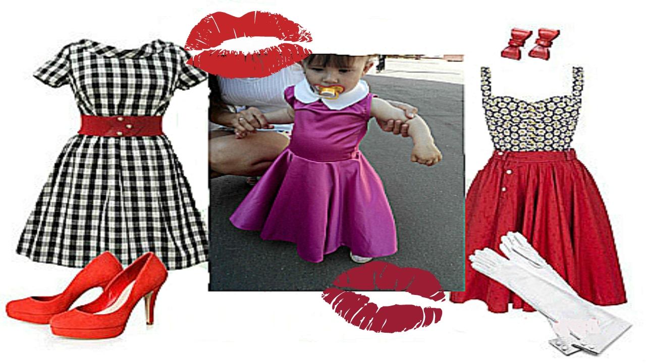 Сшить платье в стили стиляги 32