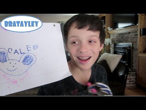 A Portrait of Caleb (WK 172.2) | Bratayley