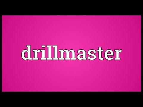 Header of drillmaster
