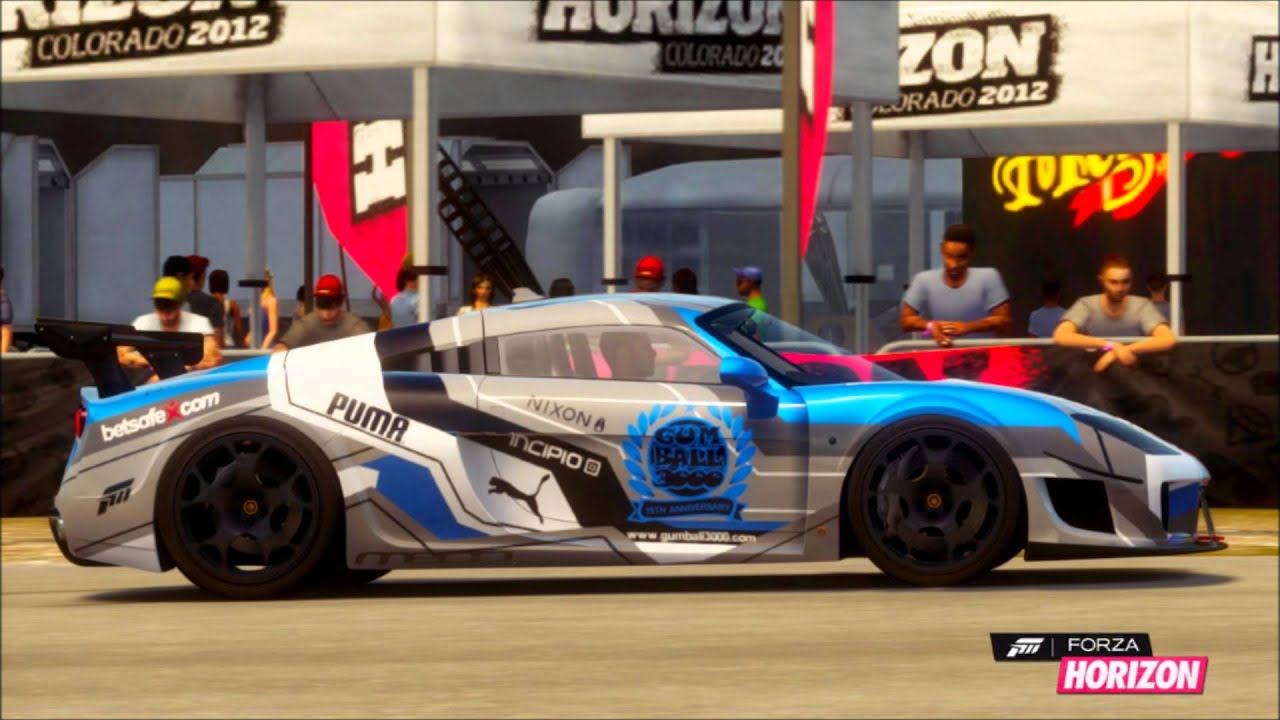 How To Paint Cars In Forza Horizon