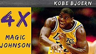 Die 4 Stufen des Magic Johnson - Kobe Bjoern