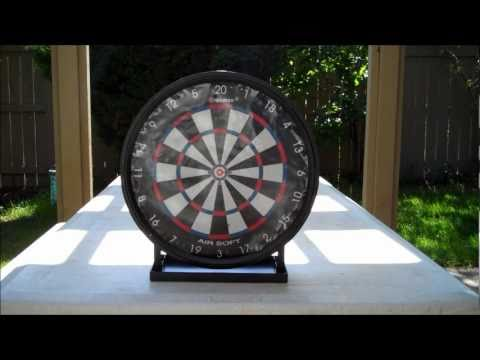 Crosman AirSoft Sticky Target Unboxing/Test