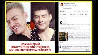 Top coment: Số Đặc Biệt - Ca Sỹ Hoa Vinh bị mất kênh Youtube gần 1 TRIỆU Subscribe