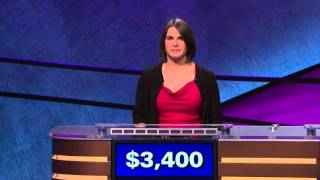 "Funny Trebek on Jeopardy! ""Flash is not a body part"" (1/13/16)"