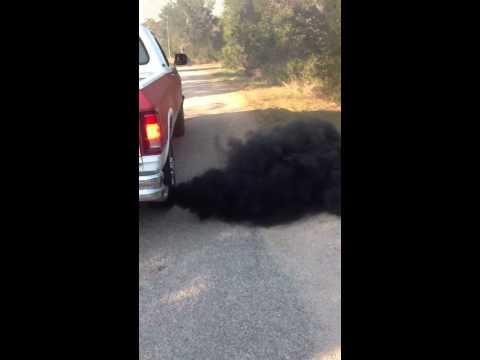 1992 Dodge D250 5.9L Cummins Turbo Diesel I6 Black Smoke!