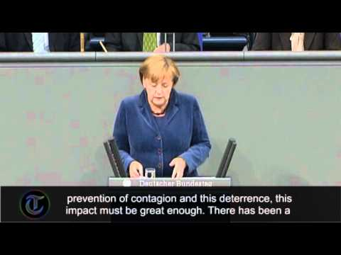 Angela Merkel: 'If the euro fails, Europe fails'
