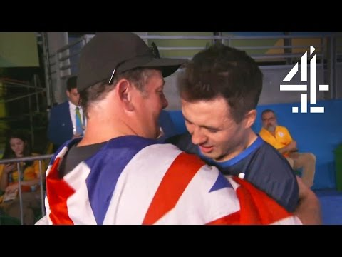 This Is What Johnny Vegas Said to Gold Medal Winner Will Bayley | The Last Leg