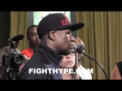 MAYWEATHER VS. COTTO POST-FIGHT PRESS CONFERENCE
