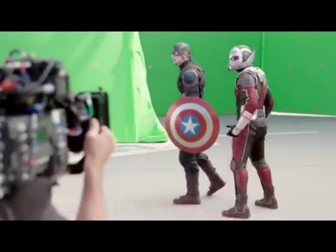 Behind the scene of civil war captain america